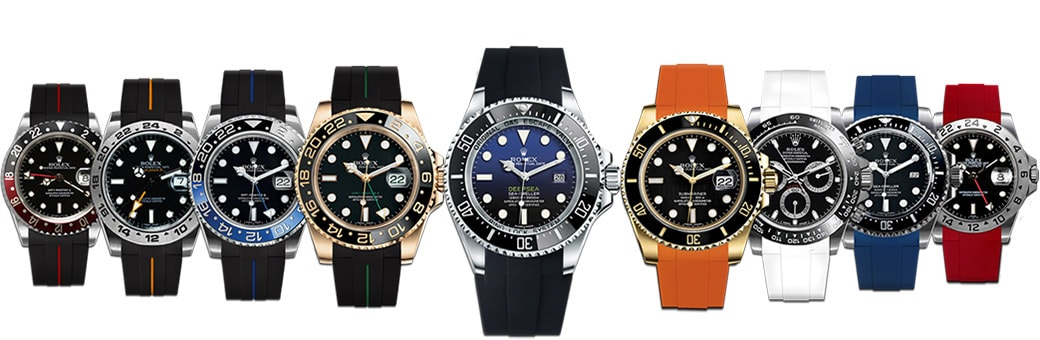 Rolex on Rubber B strap
